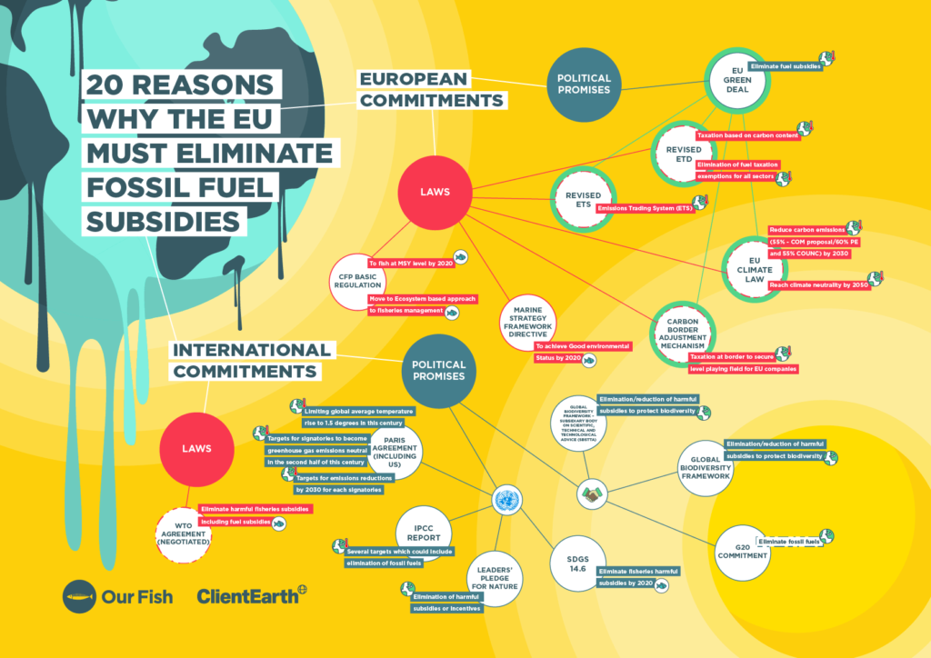 Mindmap: Why the EU Must Eliminate Fossil Fuel Subsidies